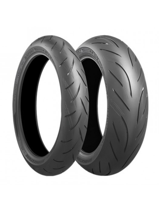 Bridgestone S21 120/70 ZR17 (58W) & 180/55 ZR17 (73W)
