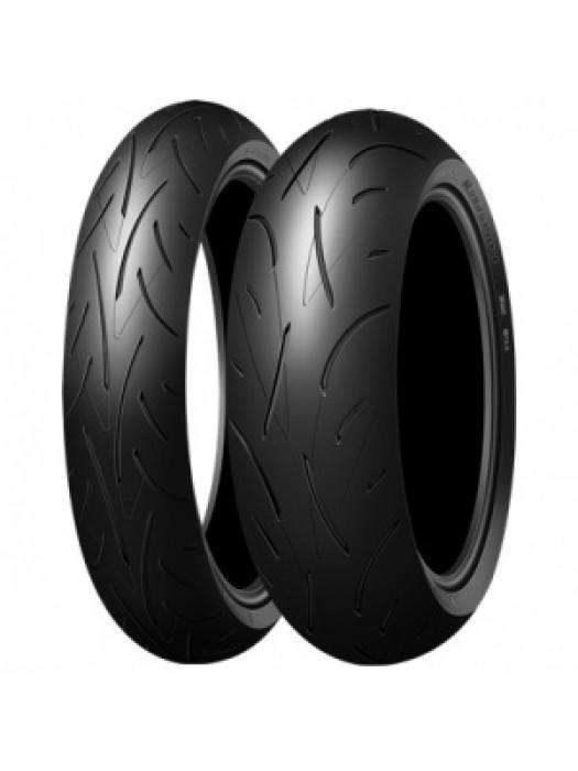 Dunlop Sportmax Roadsport 2 120/70 ZR17 (58W) & 190/55 ZR17 (75W)