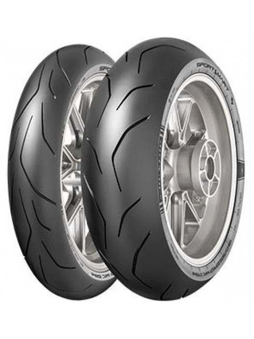 Dunlop Sportsmart TT 120/70 ZR17 (58W) & 190/55 ZR17 (75W)