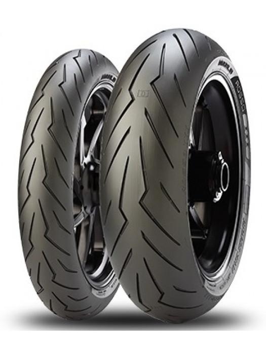 Pirelli Diablo Rosso III 120/70 ZR17 (58W) & 190/55 ZR17 (75W)