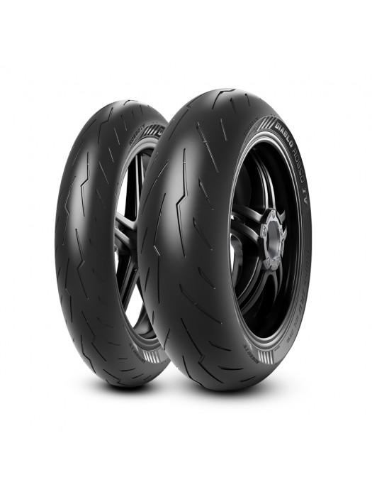 Pirelli Diablo Rosso 4 120/70 ZR17 (58W) & 200/55 ZR17 (78W)